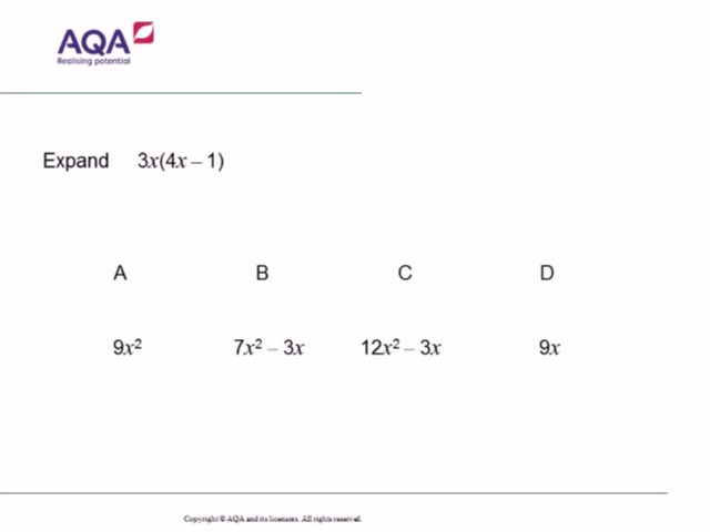 Aqa Gcse Maths 2017 Collection Diagnostic Questions